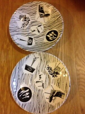 TWO VINTAGE 1950s - RIDGWAY HOMEMAKER SAUCERS