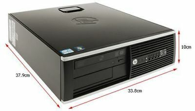 HP Elite 8200 Core i5 3,10GHz DVD Windows 7 Pro Mini Desktop PC SFF