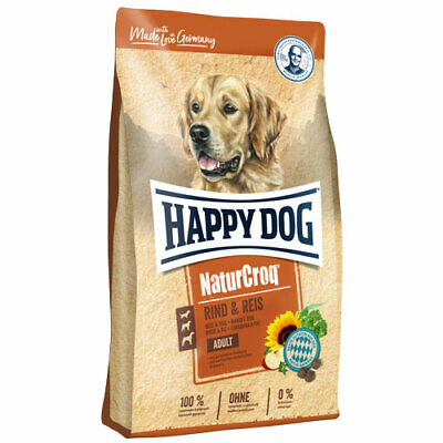 15 kg Happy Dog NaturCroq Adult Rind & Reis