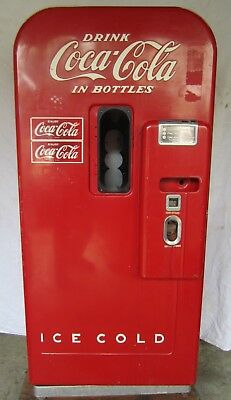 Vtg Vendo 39 Coca Cola Coke Soda Bottle Vending Machine Parts Restore WILL SHIP