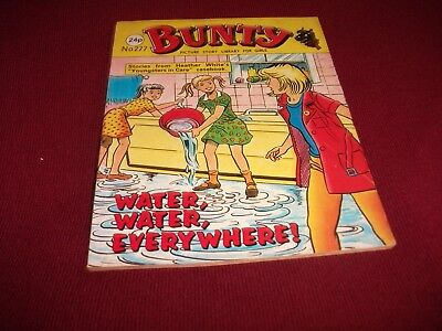 BUNTY PICTURE STORY LIBRARY BOOK from the 1980's: never been read! ex condit!