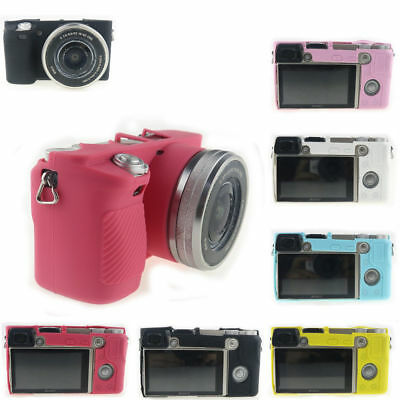Silicone Camera Cover Case Soft Protection Bag Housing For Sony Alpha A6000 Top