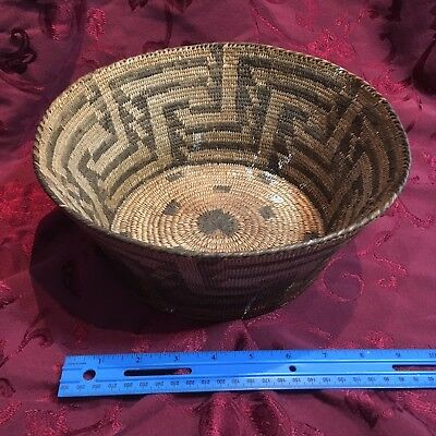 Native American Indian Basket Vintage