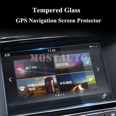 "For Jaguar XJ XJL  8.0"" Tempered Glass GPS Navigation Screen Protector 2010-2016"
