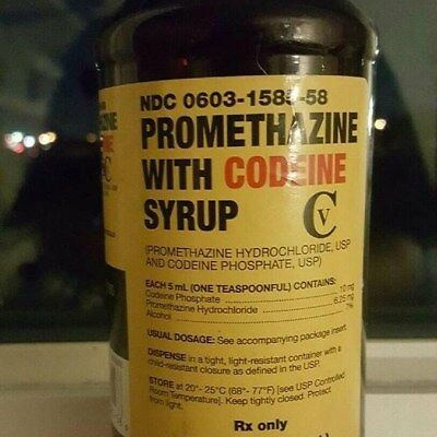 Empty Cough Syrup bottle (NOT FOR CONSUPTION) FREE SHIPPING