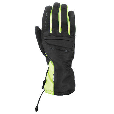 Oxford Motorcycle Bike Rainseal Waterproof Convoy Stealth Gloves Fluro All Sizes