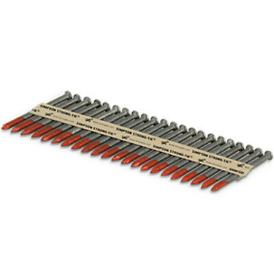 "Simpson Strong-Tie 8DHDGPT2500 8d .131 x 2-1/2"" Galv. 33&deg Connector Nails"