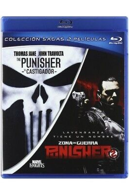 4324-Blu-ray-The Punisher + Punisher: War Zone (PACK COLECCION SAGAS: THE PUNISH