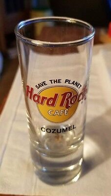 Hard Rock Cafe Cozumel Isla Cozumel Mexico Double Shotglass