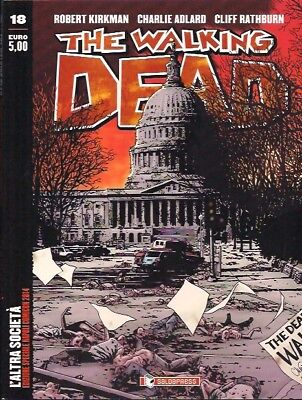 The Walking Dead 18 Variant Napoli Comicon 2014 Numerata Edizione Saldapress
