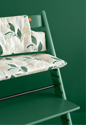 Stokke Tripp Trapp  Highchair Cushion - Forest Green (New, unopened)