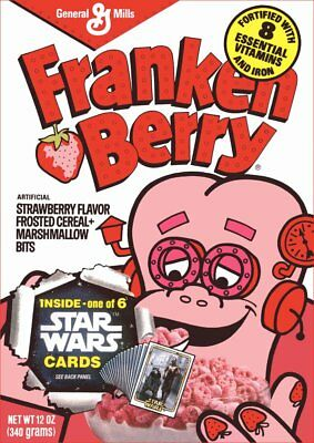 Franken Berry Monster Cereal Box Reproduction Stand-Up Display - General Mills