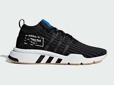 size 40 b3072 e084c Adidas Originals Mens EQT SUPPORT MID ADV PRIMEKNIT Shoes Black B37413 c