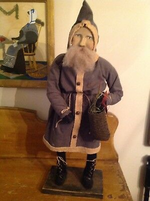 Arnett's Country Store Primitive Belsnickle Santa