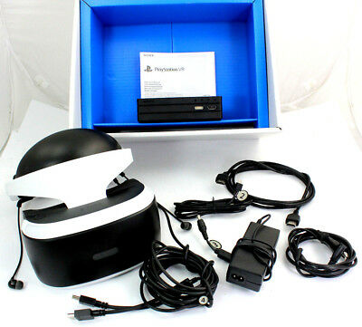Sony PlayStation 4 PS4 VR Headset CUH-ZVR2 VR-Brille + OVP C48 16118 DL2