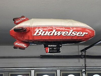 Budweiser Beer Inflatable Blow Up Giant Blimp Anheuser Busch