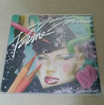 Grace Jones - Fame Vinyl LP