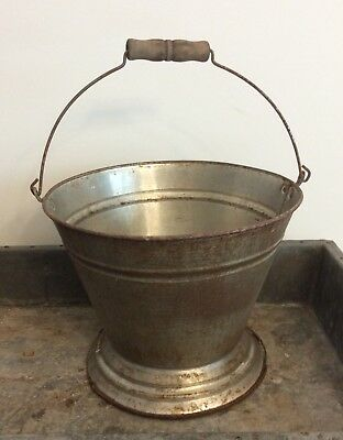 VIntage Country Dairy Farm COW  MILKING PAIL / Bucket, Round Bottom,Unique