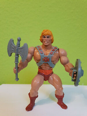 He-Man Actionfigur Softhead MOTU Masters of the universe Mattel Taiwan 1981