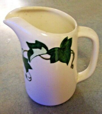 Vintage Metlox Poppytrail California Ivy Pottrry Small Pitcher