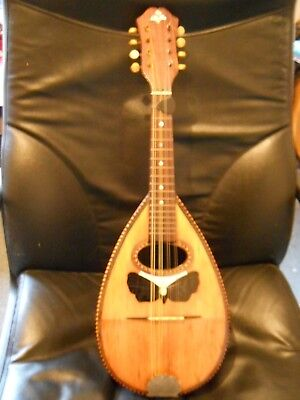 Vintage Bowl Back Mandolin