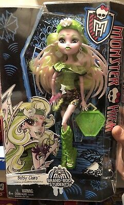 "New In Box Monster High Doll Brand-boo Students Batsy Claro 10.5"" Doll"