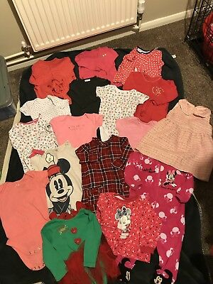 Baby Girls 9-12 Months Clothes Bundle