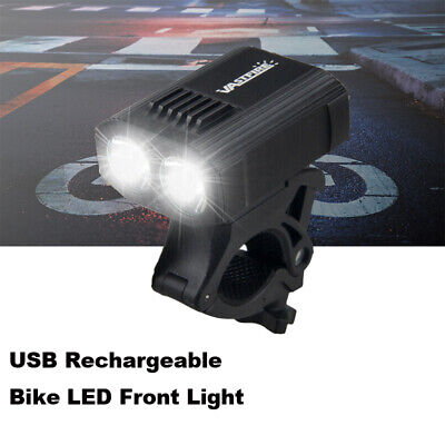 1000LM Mountain Bike Headlight Night Riding Cycling Front Lamp USB Rechargeable