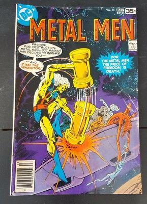 Metal Men - Mar - #56 - 1976 - Dc Comics - Free Us Shipping