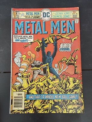 Metal Men - July  #46 - 1976 - Dc Comics