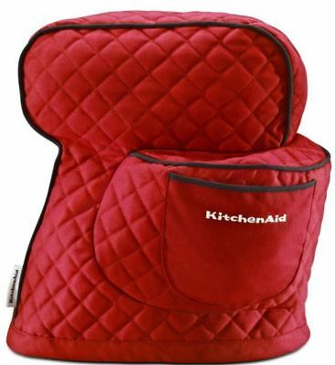 KitchenAid® Fitted Stand Mixer Cover, KSMCT1, Empire Red Brand New, US Seller