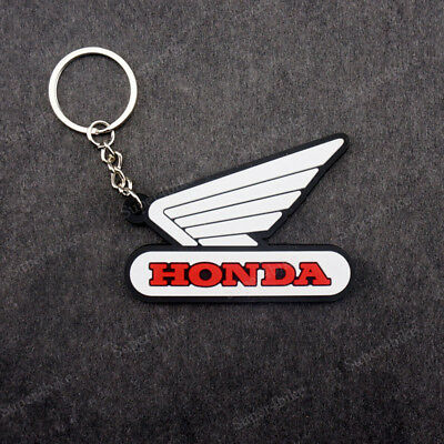 Keychain Key Ring Rubber Motorcycle Key Chain For Honda CBR 600RR 300RR 125R