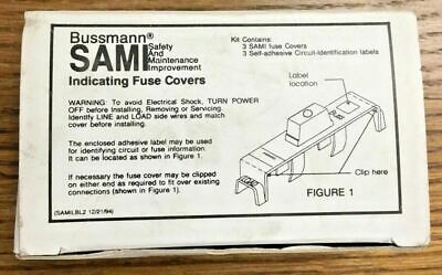 Bussmann sami indicating fuse cover, single (bussmann - sami-7)