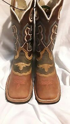 5c9da58996 Cowboy Rodeo Western  Bota Rodeo El General Mexican Boot USA 4.5 New