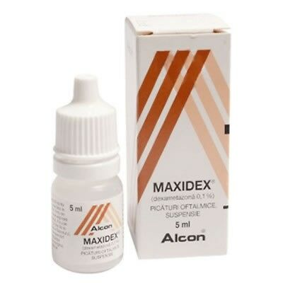 maxidex eye drops, 5 ml by Alcon