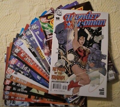 WONDER WOMAN !   #18-37, 39,  21 issues VF/NM !
