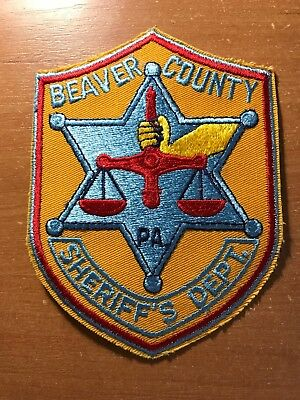 POLICE PATCH DEPUTY Sheriff Philadelphia Pennsylvania Pa