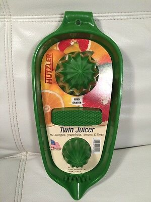 Vintage Looking 1970 (2007) Hutzler Green Citrus Grapefruit Orange Lemon Juicer
