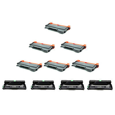 6*TN450 Toner + 4*DR420 Drum For Brother DCP-7065DN MFC-7360N 7460DN MFC-7860DW