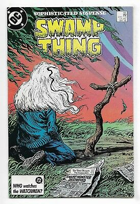 Swamp Thing 1986 #55 Very Fine Alan Moore