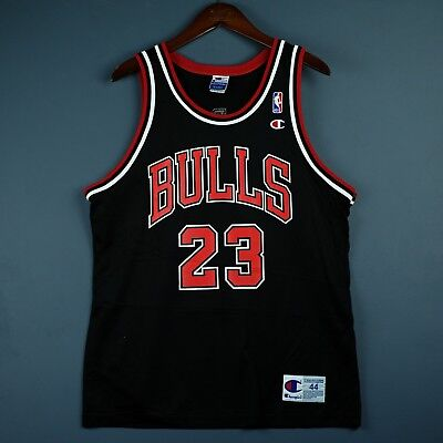 7b37ae120c9 100% Authentic Michael Jordan Vintage Champion Bulls Jersey Size 44 M L Mens