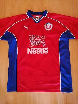 Helsingborgs IF Vintage Football Jersey Rare 90s Nestle HIF XL Shirt  Old