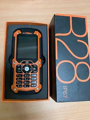 New ZTE R28 Tough Rugged Outdoor IP67 Camera Mobile Phone (Unlocked)