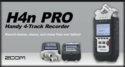 Zoom H4n Pro 4-Channel Handy Recorder, New in Retail Box !!!