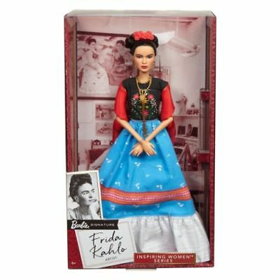 Frida Kahlo Mattel Barbie Doll Inspiring Women Series Mexican Artist NEW MINT