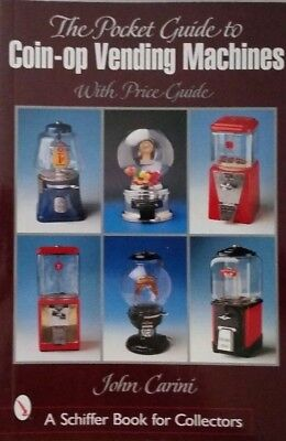 Antique Vending Machine $ Guide Book STAMPS CANDY TOBACCO MATCHES++