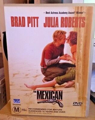 THE MEXICAN         ( brad pitt , julia roberts )