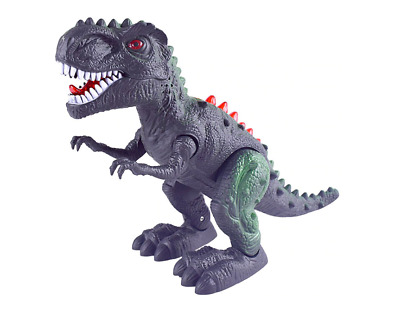 Dinosaur T-Rex Tyrannosaus Walks Roars Figure Light Sound Kids Boys Gift Toy