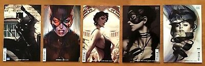 CatWoman 1,2,3,4,5 2018 Cover B Variants Stanley Artgerm Lau Covers DC NM