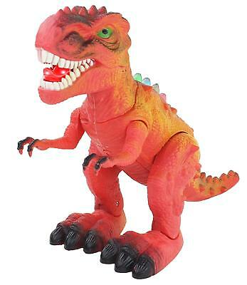 Dinosaur T Rex Tyrannosaur Walks Roars Light Sound Kids Boys Gift Toy Battery